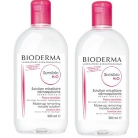Bioderma Sensibio H2O Solutie Micelara 500ml+500ml
