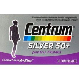 CENTRUM Silver 50+ pentru Femei 30 comprimate