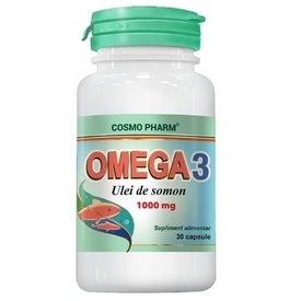 Cosmo Pharm - Omega 3 - ulei de somon 1000 mg, 30 capsule