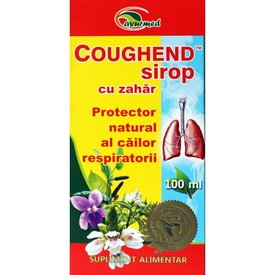 Coughend sirop, cu zahăr 100 ml