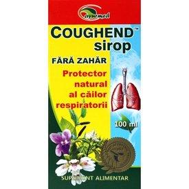 Coughend sirop, fără zahăr 100 ml