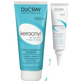 Ducray Keracnyl PP crema 30 ml+Keracnyl gel 100 ml