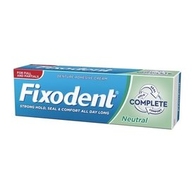 Fixodent Complete Neutral Crema Adeziva pentru Proteze Dentare 47g