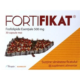 FORTIFIKAT Fosfolipide Esentiale 500mg, 30 capsule moi