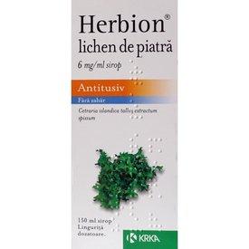 Herbion Lichen de piatră sirop 150 ml