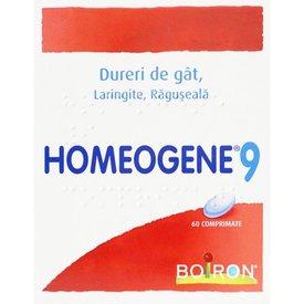 Homeogene 9 comprimate 60 comprimate