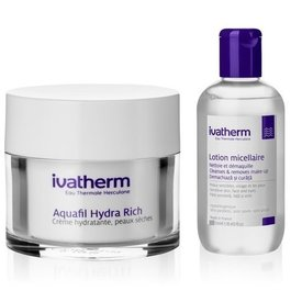 Ivatherm Aquafil Hydra Rich 50ml + Lotiune micelara 100ml