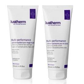 Ivatherm Crema Multiperformance Corp 200ml + Lapte Demachian Fata si Ochi 200ml