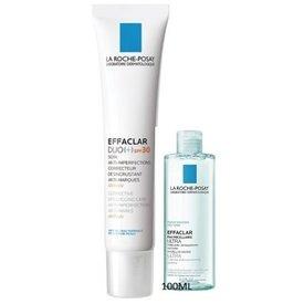 La Roche Posay Effaclar duo spf 30 crema 40ml+Effaclar ultra apa micelara 100ml