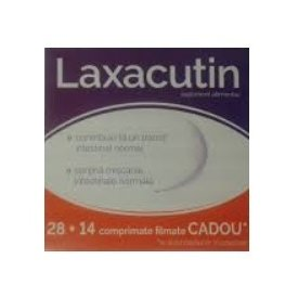 Laxacutin 28 + 14 comprimate