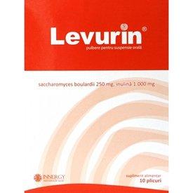 Levurin, pulbere pentru suspensie orală 10 plicuri