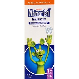 Minimarţieni Imunactiv Sirop  150 ml