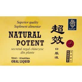 NATURAL POTENT, 6 fiole