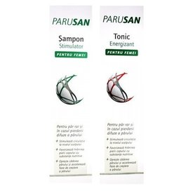Parusan Sampon Femei 200ml + Tonic 200ml