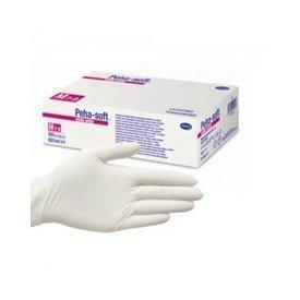 Peha-soft Nitrile White Manusi de Examinare Nepudrate Marimea M(7-8) x 100 bucati