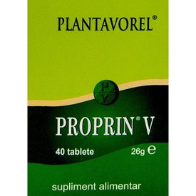 Plantavorel - Proprin V, 40 tablete