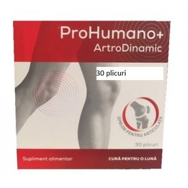 Prohumano+ Artrodinamic 30 plicuri