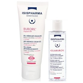 Ruboril expertM crema40ml+Aquaruboril solutie micelara 100ml