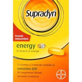 Supradyn Energy, 30 comprimate filmate