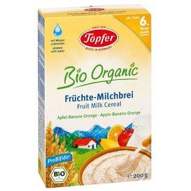 Topfer Cereale Gris cu Lapte Mere Banane Portocale (de la 6 luni) 200g