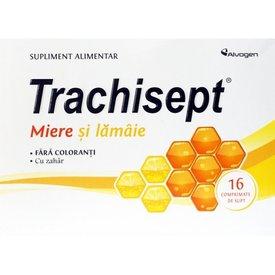 Trachisept Miere și Lămâie 16 comprimate de supt