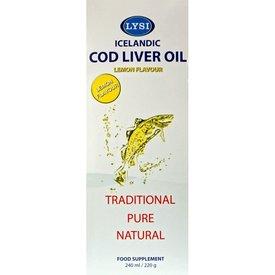 Ulei din ficat de cod cu aromă naturală de lamâie 240 ml