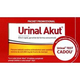 Urinal Akut, 10capsule + Urinal Test