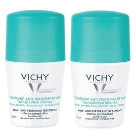 Vichy Deodorant 48h 50ml+50ml