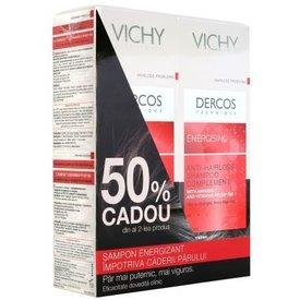 Vichy Dercos Sampon Energizant Impotriva Caderii Parului 2 x 200 ml