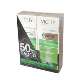 Vichy Dercos Sampon Tratament Antimatreata Par Uscat 2 x 200ml