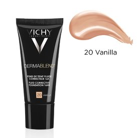 Vichy Dermablend Fond de ten Fluid Corector  20 (Vanilla) 30ml