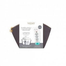 Vichy Liftactiv Supreme Crema de Zi Ten Uscat 50ml + Purete Thermale Demachiant 3 in 1 100ml