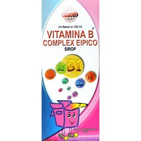Vitamina B complex Eipico, sirop 125 ml