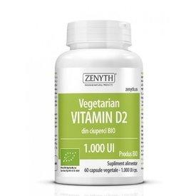 Vitamina D2 1000 UI vegetarian 60capsule