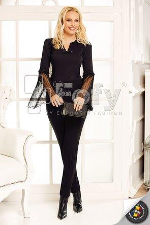 Pantalon negru elegant