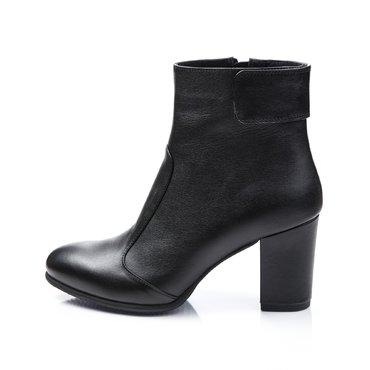 Ghete elegante piele neagra Galia