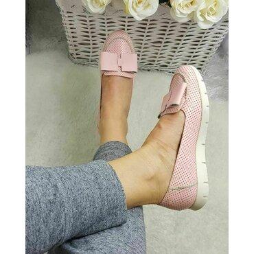 Mocasini roz Nely