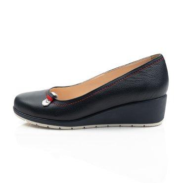 Pantofi bleumarin din piele naturala Ara