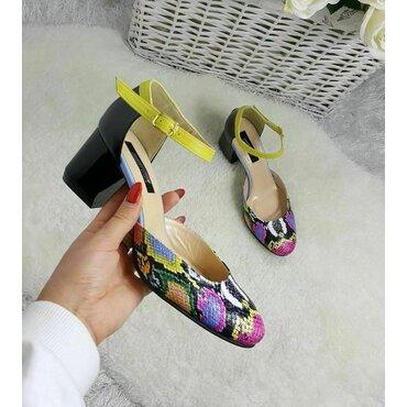 Pantofi dama imprimeu color Valeria