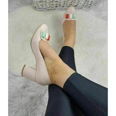 Pantofi de dama nud Bambi