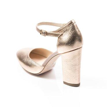 Pantofi decupati Ana piele aramie
