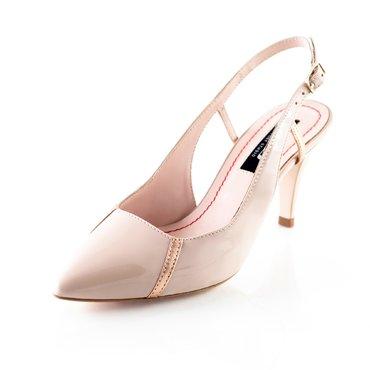 Pantofi lac nude Geox