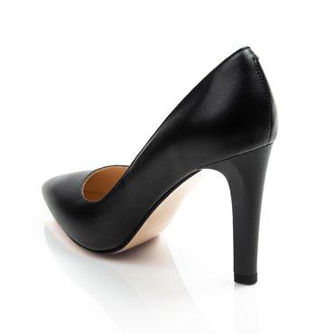 Pantofi negrii din piele naturala Trend 2