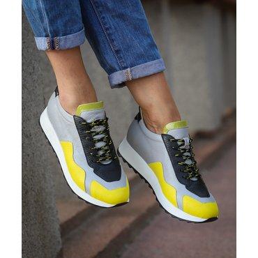 Pantofi sport casual din piele naturala Daza