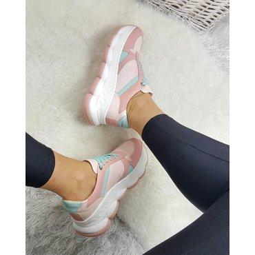 Pantofi sport din piele naturala Amy 6009