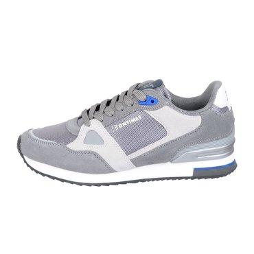 Pantofi sport gri din piele intoarsa Bit Bontimes
