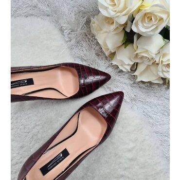 Pantofi stiletto bordo Trend