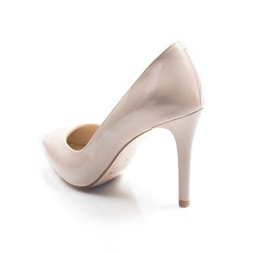 Pantofi stiletto trend 2 lac nude