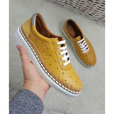 Pantofi tip mocasini mustar Mali
