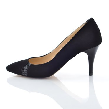 Pantofi Valentin Piele Intoarsa Neagra